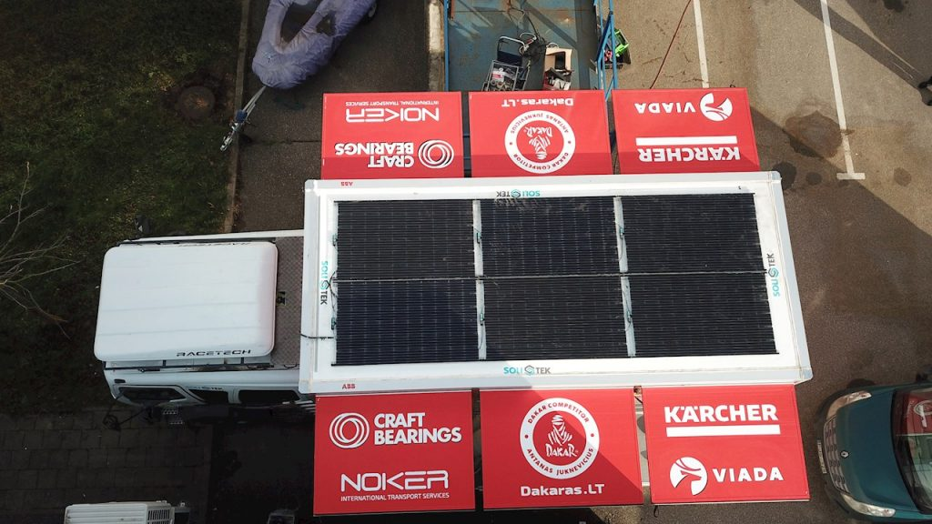 ABB Powers-up Service Crew at Dakar Rally 2019 with Solar Energy