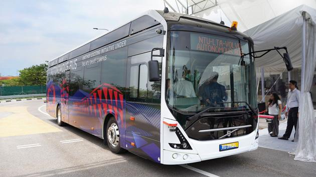 ABB puts the charge into world's first driverless bus
